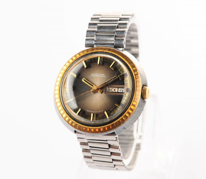 watch Raketa large with bracelet 3137-1156