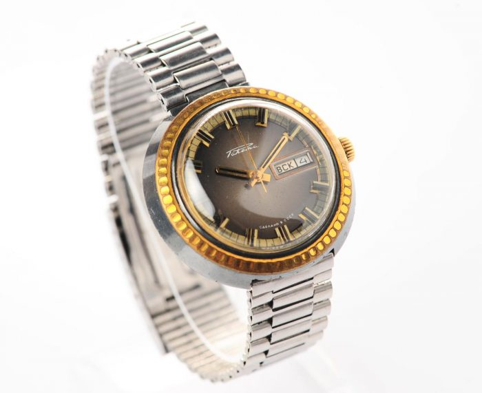 watch Raketa large with bracelet 3137-1159