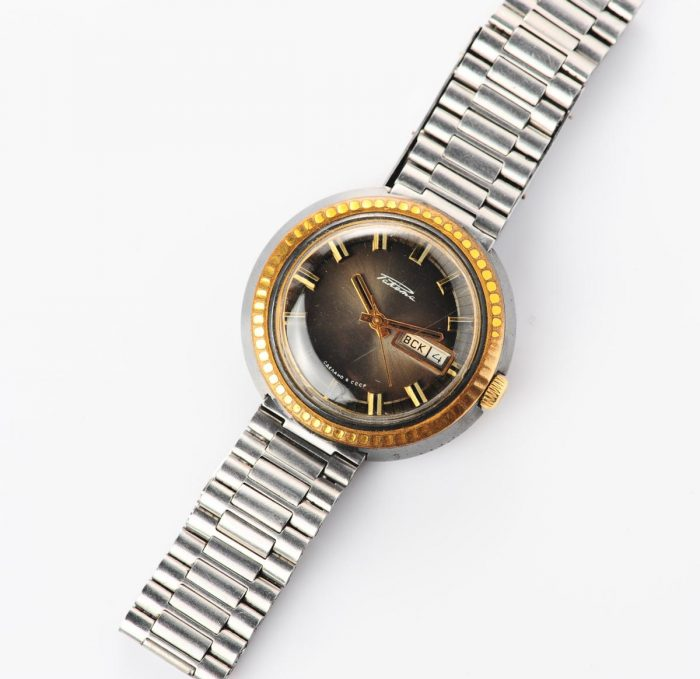 watch Raketa large with bracelet 3137-1164