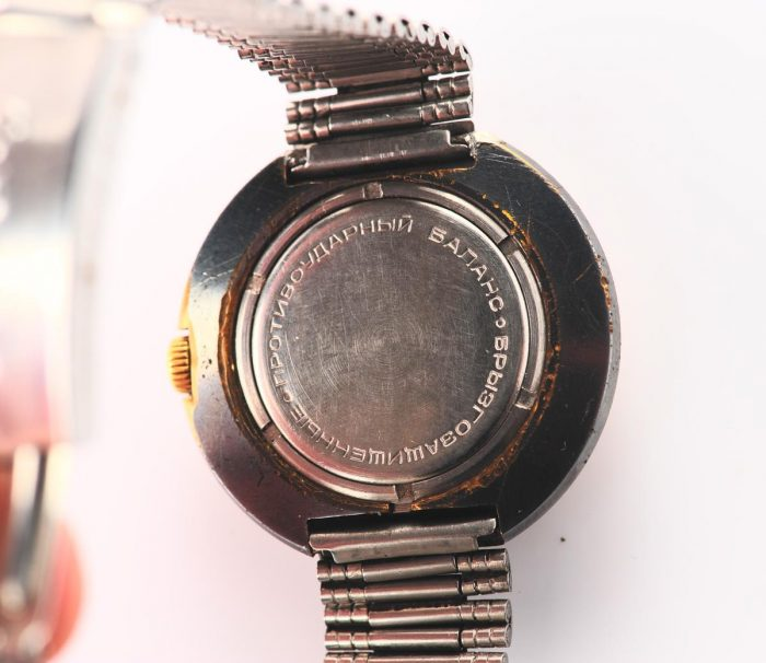 watch Raketa large with bracelet 3137-1166