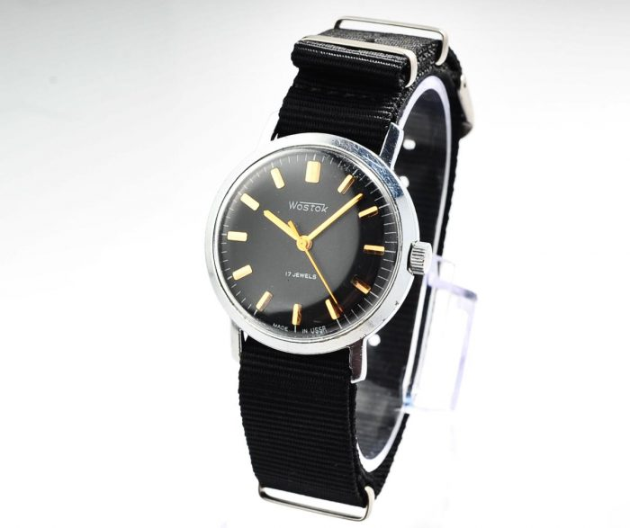 watch Wostok black 4285-12807