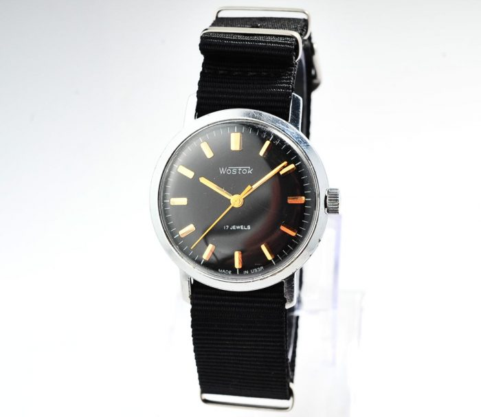 watch Wostok black 4285-12814