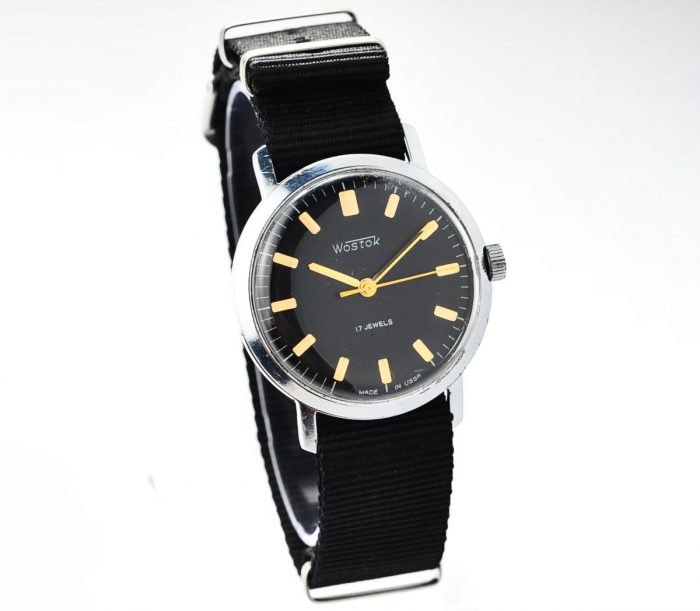 watch Wostok black 4285-12819