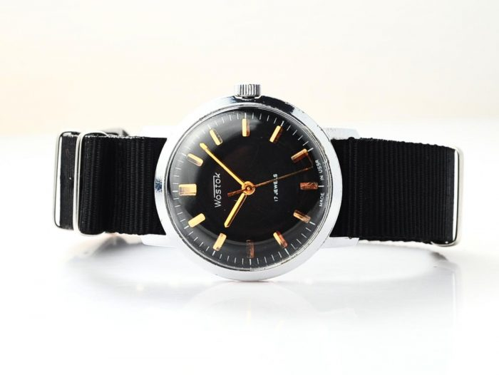 watch Wostok black 4285-12822