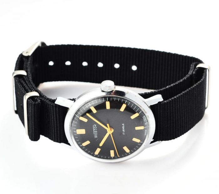 watch Wostok black 4285-12823