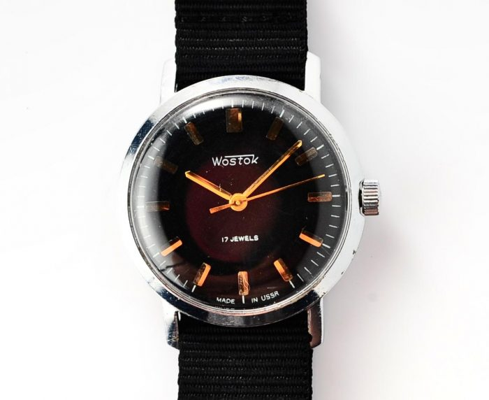 watch Wostok black 4285-12825