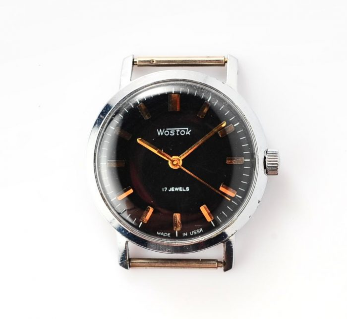watch Wostok black 4285-12839